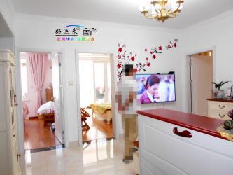 建湖市区欧堡利亚尊园精装套房 3室2厅1卫 102平米